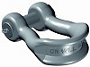 Wide body shackle GN H14 c/w safety bolt tempered, heat treated steel
