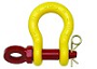 ROV shackle release c/w split pin G209R galvanized