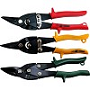 Sheet metal shears set 3 pcs. Straight and right cut - straight and left cut - straight, right and left cut